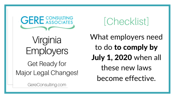 Virginia Employment Law Virginia Employment Law
