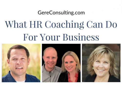 What Human Resource Coaching Can Do For Your Business