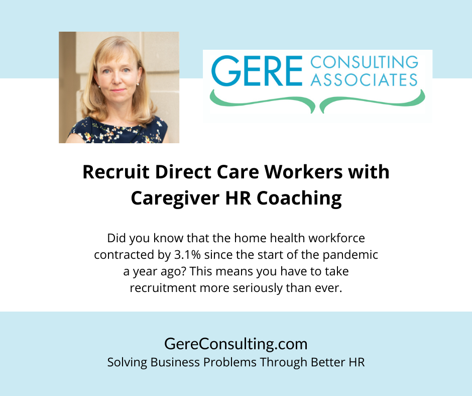Direct Care Worker Caregiver Coaching